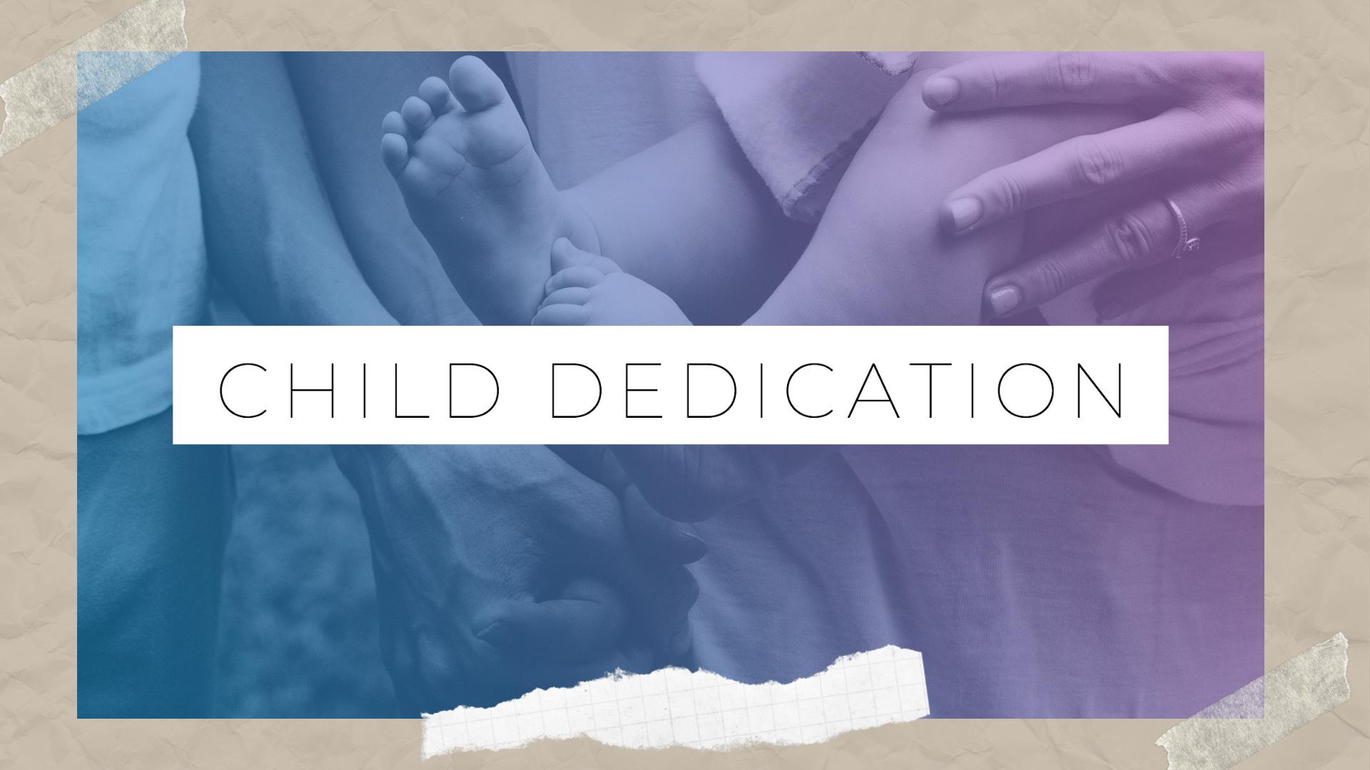 Child Dedication